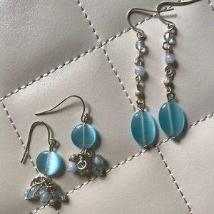 Jewelry - Blue Earring Set